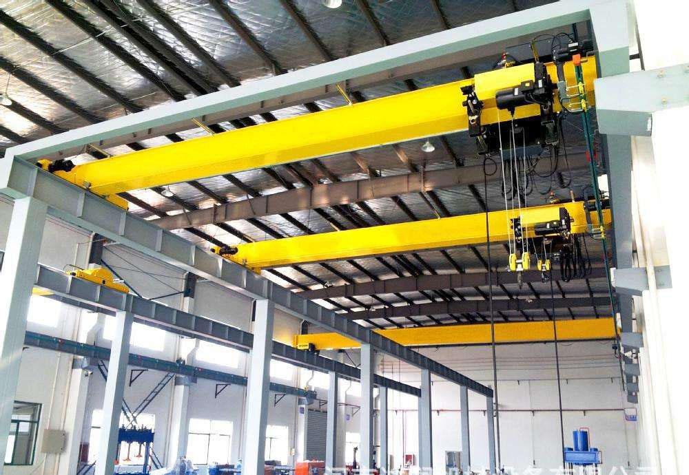 New Single Girder Overhead Crane with CD1 MD1 Electric Hoist.jpg