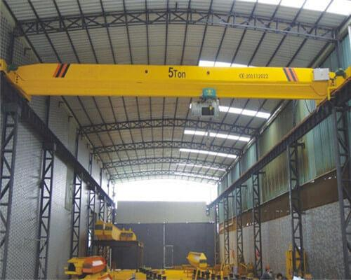 5 Ton Single Girder Overhead Crane with Electric Hoist.jpg