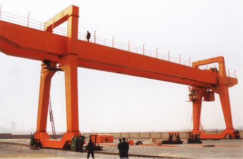 Heavy Duty Motor Driver Doble Beam Gantry Grapple Crane